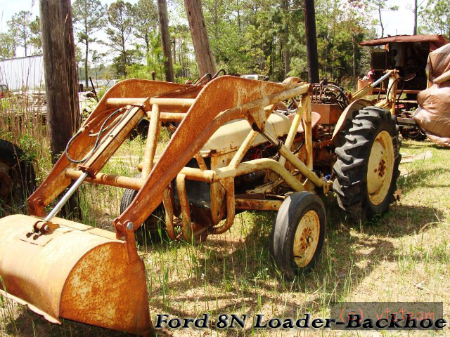 Ford Loader Arms : A loader for the ford from bits and pieces